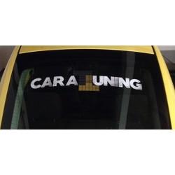 Limitovaná nálepka na auto